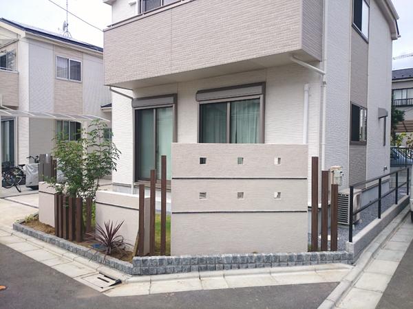 お庭のリフォーム 千葉県市川市 写真