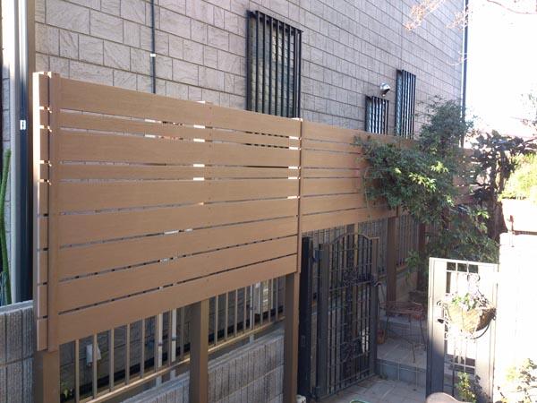 アルファウッドの目隠し 千葉県市川市 写真