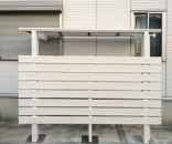 タカショー アートポート 駐輪場の屋根 千葉市美浜区