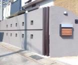 塗り壁のリビング前目隠し 千葉県市川市