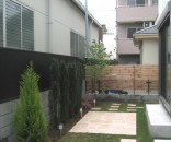 緑と天然石テラスのお庭 市川市