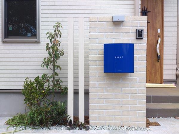 地中海風のオープン外構 千葉県市川市 写真