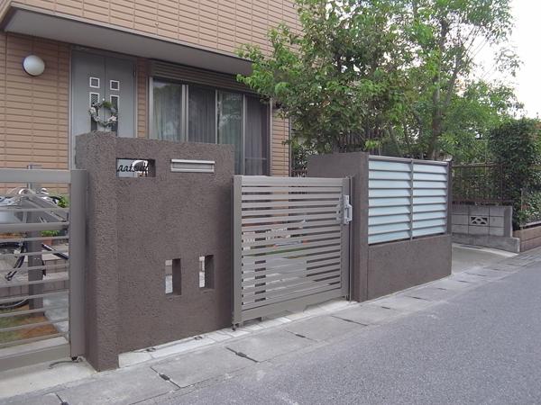 門廻りのリフォーム LIXILアーキスライド 写真