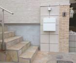 オリジナル造作門柱 松戸市