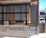 自転車置場のリフォームとテラス屋根 千葉県市川市
