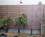 ディーズガーデン アルファウッド 庭の目隠しフェンス 千葉県市川市