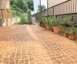 スタンプコンクリートでお庭を明るく @市川市